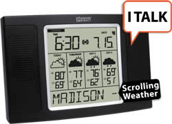 4 Day Talking Internet Powered Wireless Forecaster