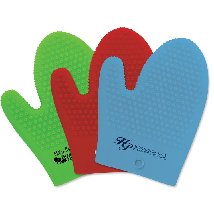 Therma-Grip Silicone Oven Mitts - Housewares Oven Mitts utensils kitchen silicone