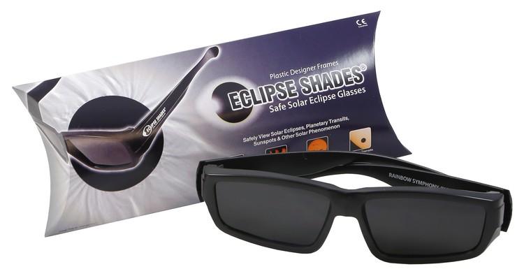 Eclipse Glasses - Plastic Folding Arms