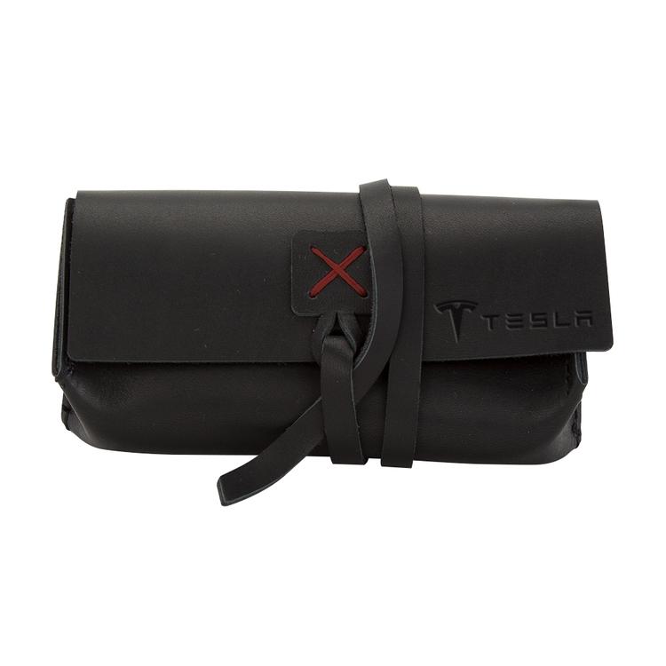 DRAPER Leather Sunglass Case