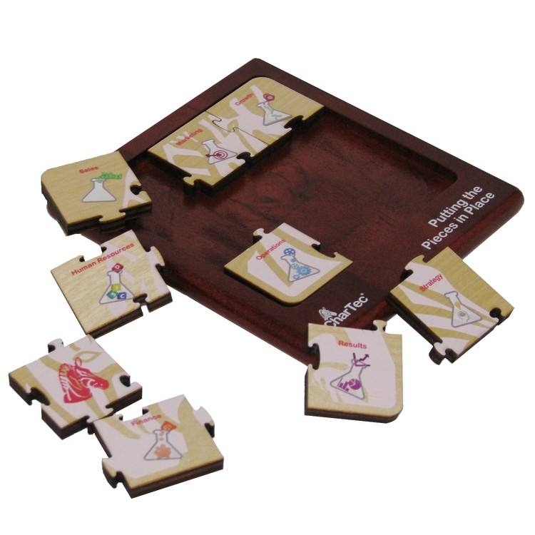 Wood Jigsaw Puzzle 9 Piece Square 1599 S Solid