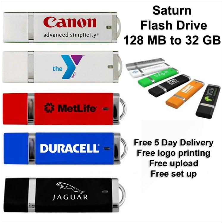 Saturn Flash Drive / USB - 1 GB Memory