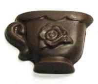 CHOCOLATE TEA CUP FLOWER