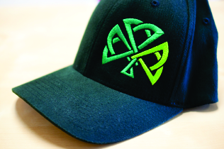 Cap with 3D Embroidery on left panel