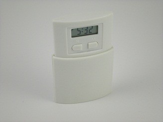 Mini LCD Desk Clock - Popup , With Alarm
