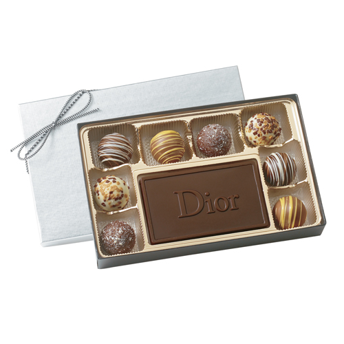 BT8 Custom Chocolate Mold with Filled Truffles Gift Box