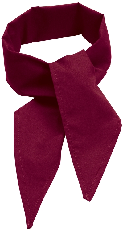 C22 Poplin Neckerchief Burgundy
