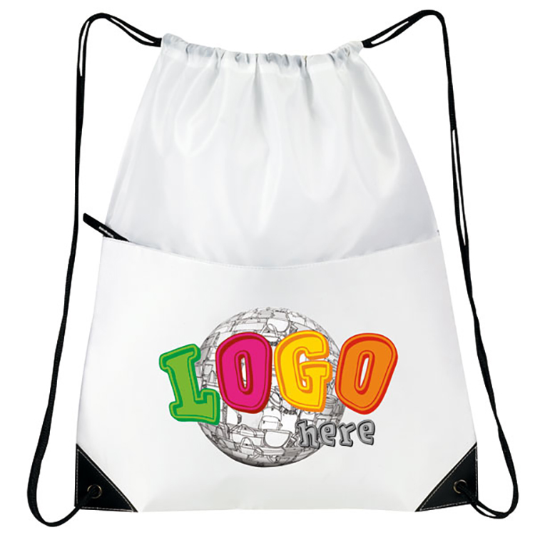 All-Purpose Drawstring Tote II - Tote Bags