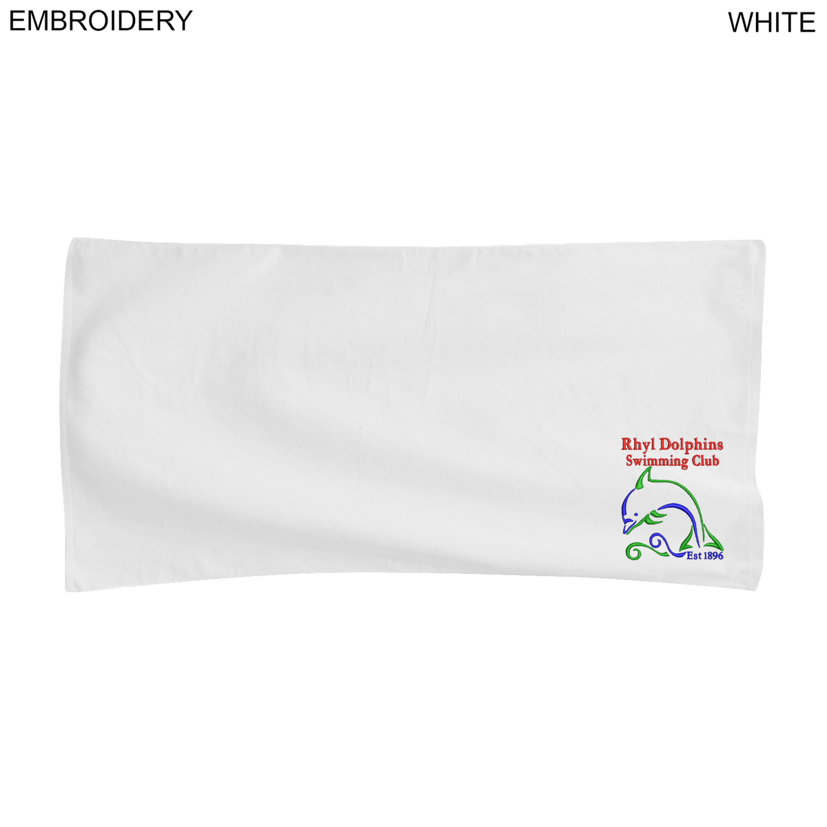 22x44 Towels: Velour Towel, 22x44, Embroidered Or Blank - EM375W
