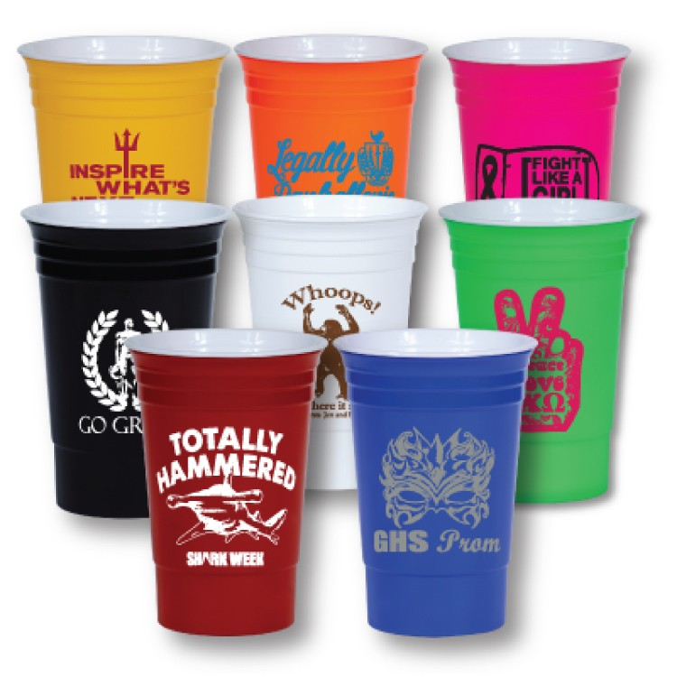 16 oz Double wall Party Cup - BPA FREE - USA Made