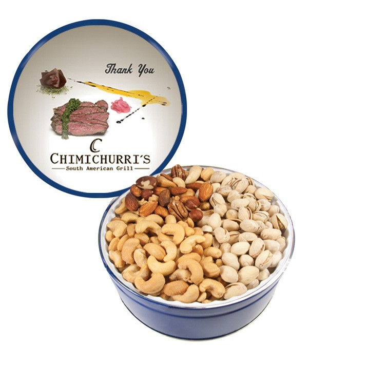 The Royal Tin with Nuts - Blue