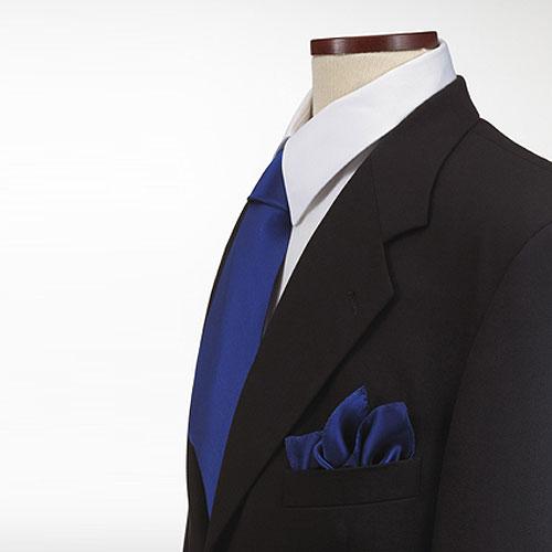 Royal Blue Polyester Pocket Square