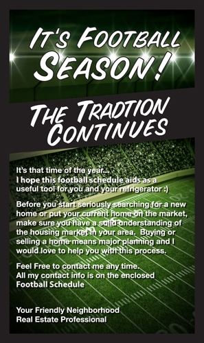 EZ Inserts – Football Tradition