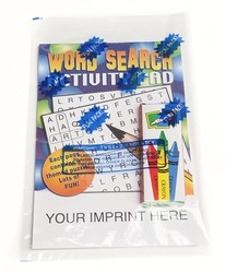 ACTIVITY PAD SET - Word Search Activity Pad Fun Pack - Activity Pad Fun Pack