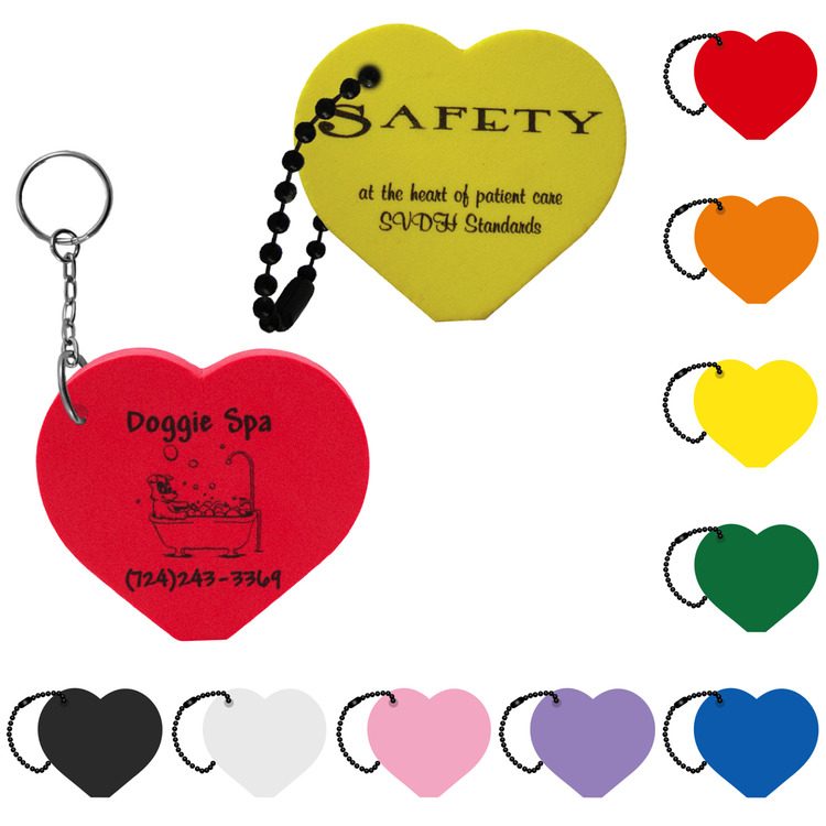 Heart Key Tag - Heart Key Tag