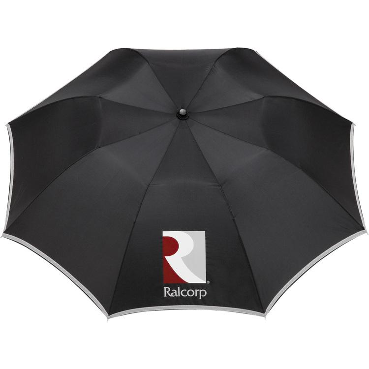 42 Auto Folding Safety Umbrella