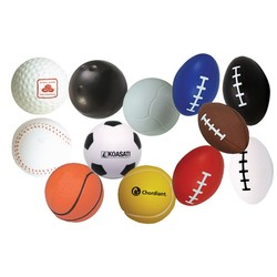 Sports Squeezies Stress Balls