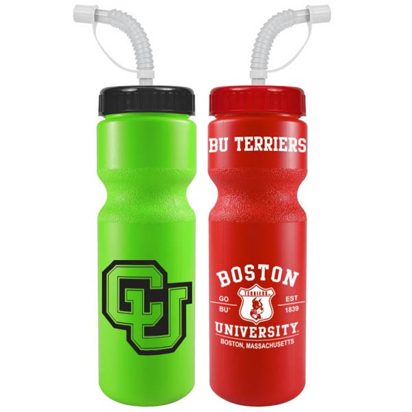 28 Oz Sports Bottle Colors With Straw Cap