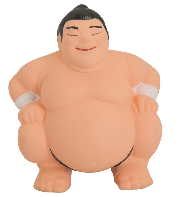 Sumo Wrestler Squeezies Stress Reliever