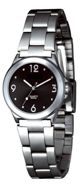 iBank® Stainless Steel Watch (Women)