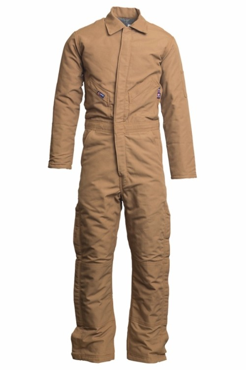 12oz. FR Insulated Coveralls | 100% Cotton Duck