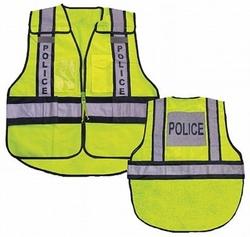 Ahlborn Vest26 Forester High Visibility Police 5 Point Tear Away Safety Vest