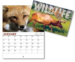 13 Month Mini Custom Photo Appointment Wall Calendar - WILDLIFE