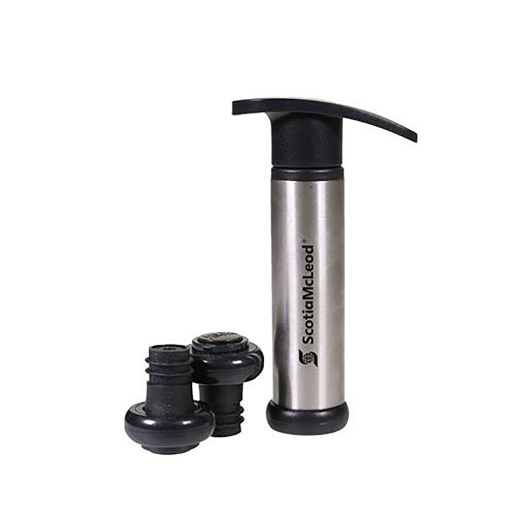 3 Piece Stainless Steel Wine Pump