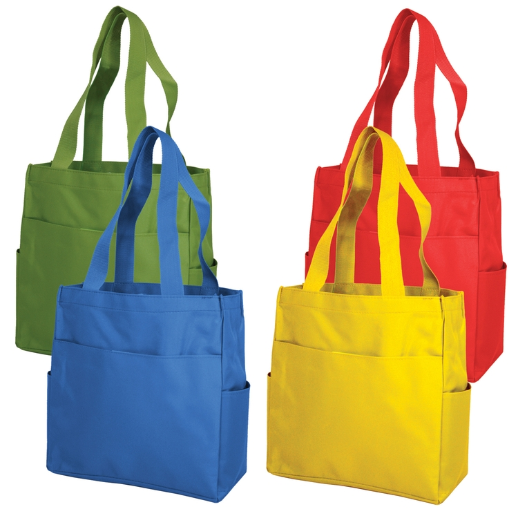 The New Multi Pockets Shopper Tote Bag