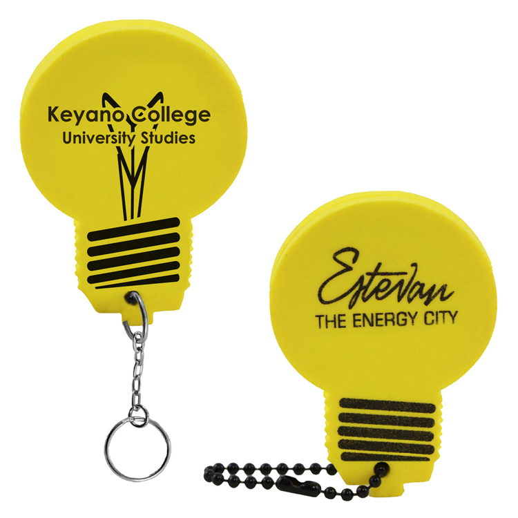 Lightbulb Key Tag