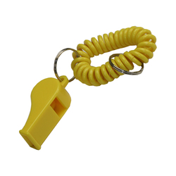 Wrist Coil w/Whistle Keyring