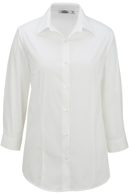 LADIES' MATERNITY STRETCH BLOUSE-3/4 SLEEVE