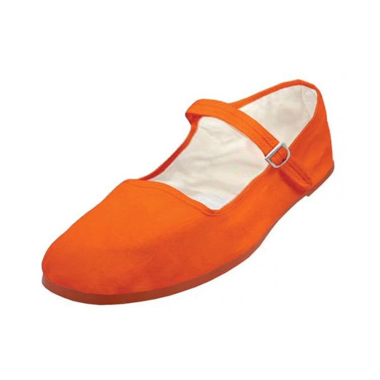 Women S Orange Color Mary Janes Shoes 36 Pairs 1934301