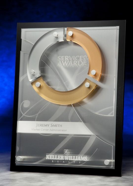 Evolution Award Plaque