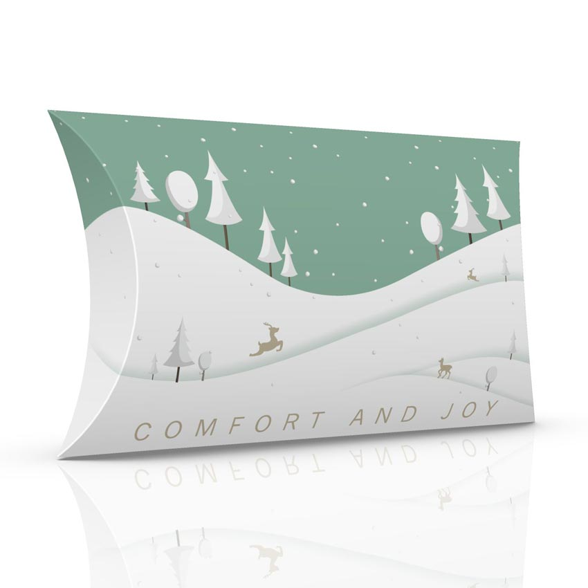 Comfort and Joy pillow box