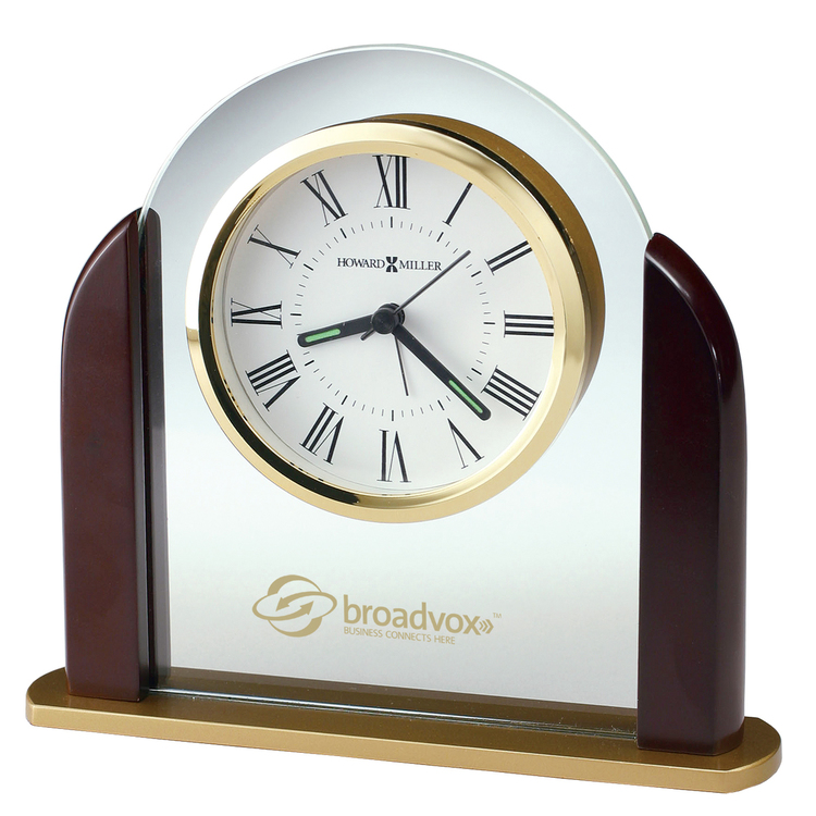 Howard Miller Derrick tabletop clock