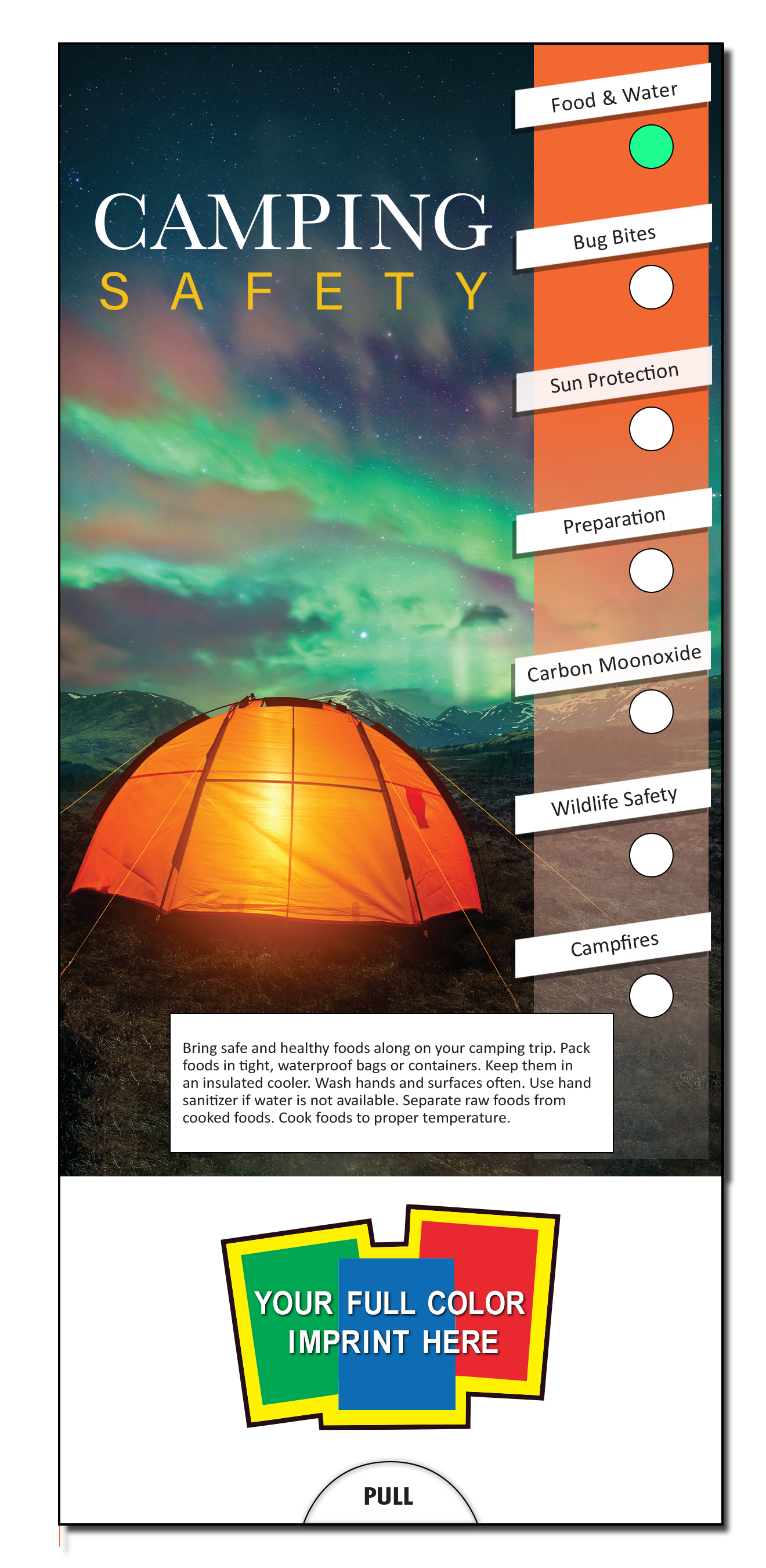 SLIDE CHART - Camping Safety