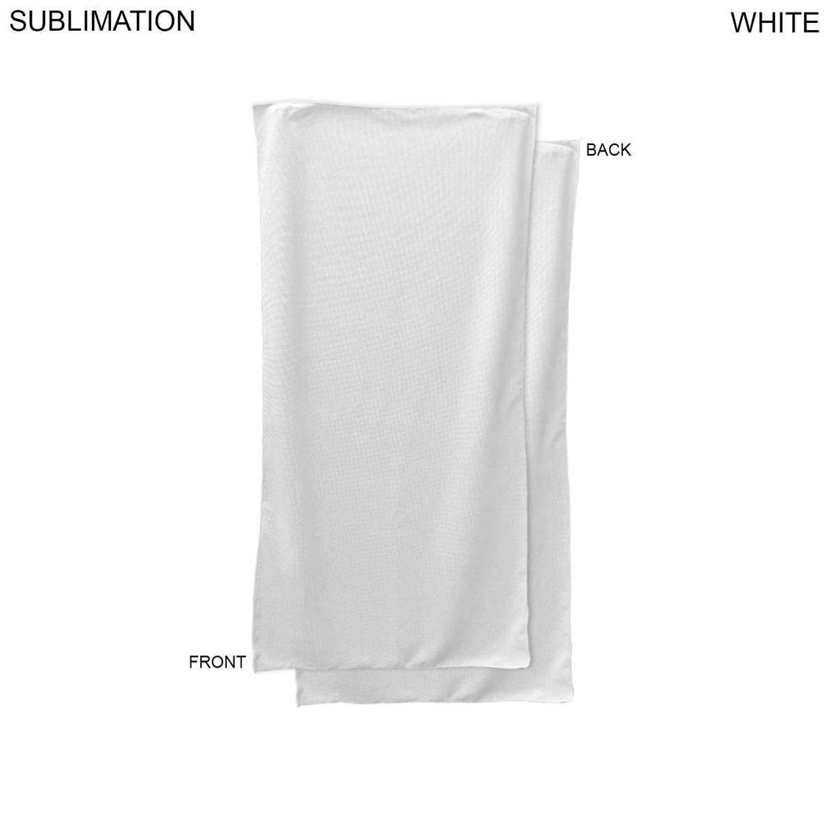 22x44 Towels: Sublimated Or Blank Microfiber Terry Team Towel, 22x44