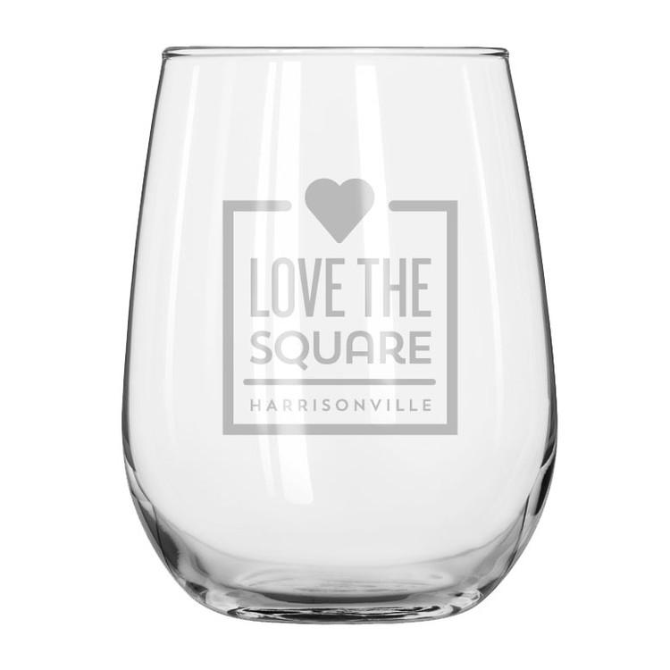 17 Oz Stemless Wine Glass Stemless221 Megafastline