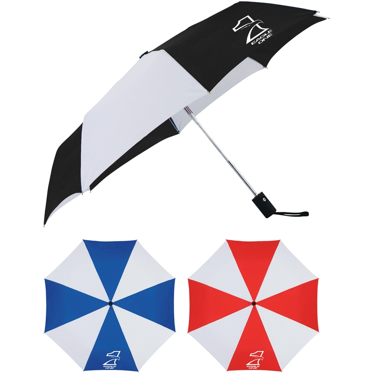 Cutter & Buck® 42 Inch Auto Open Close Umbrella CLEARANCE