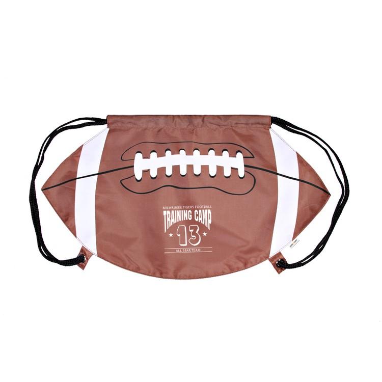 GameTime!(R) Football Drawstring Backpack