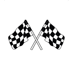 Envelope Seals – Racing Flags