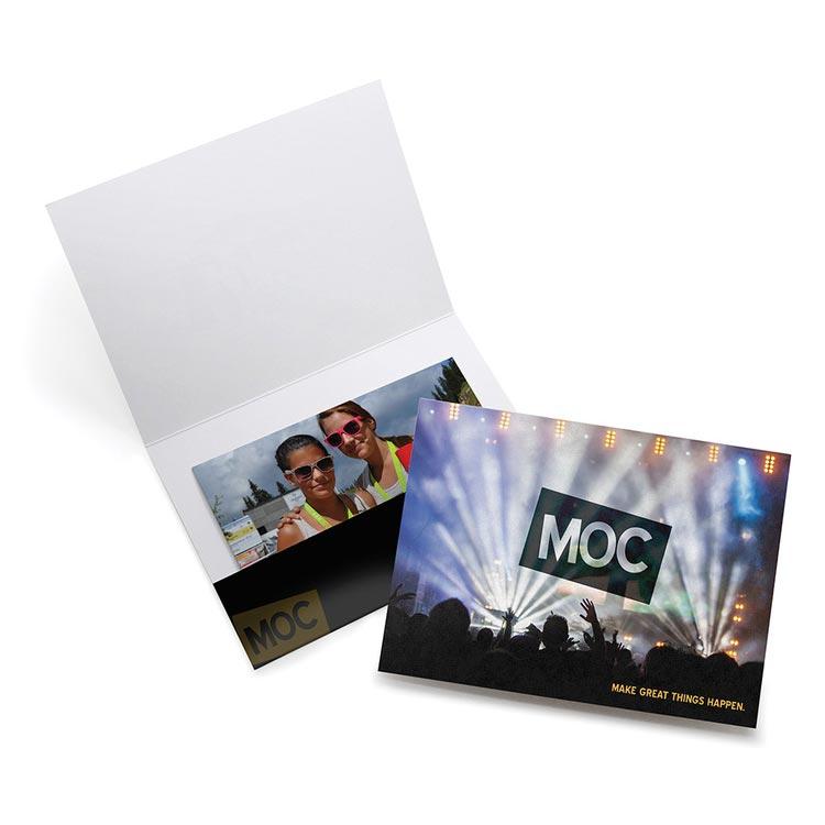 Horizontal pocket folders