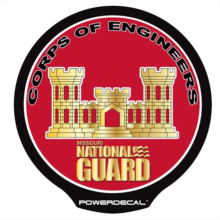 Missouri National Guard - Corps of Engineers POWERDECAL™