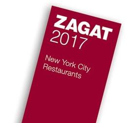 Custom Printed Zagat Guides: 2017 New York City Restaurants