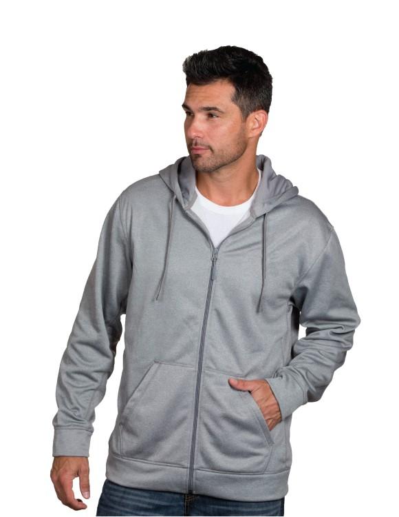 Dunbrooke Apparel NFL mens Camo Trophy Xtra Tech Fleece Full Zip hoodie