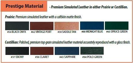 Prestige Simulated Leather