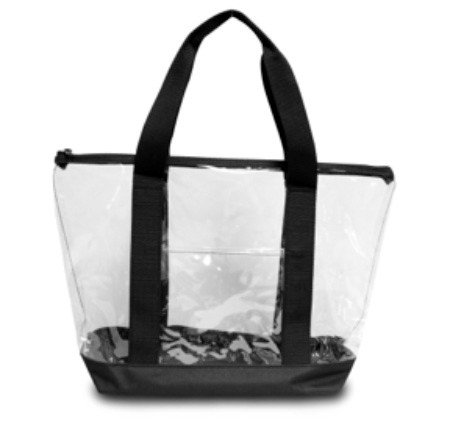Clear Tote Bag - NFL Friendly