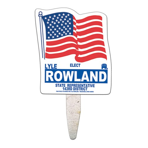 Flag Mini Seed Stick Fan