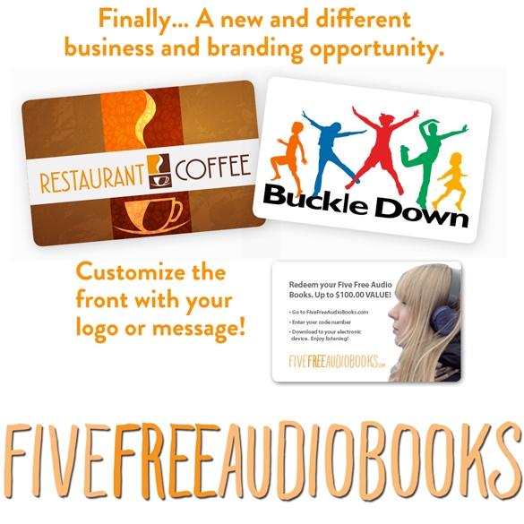 FIVE FREE AUDIO BOOKS